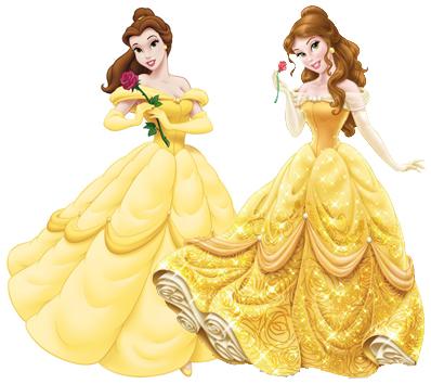 Comparação: Princesas Disney antes e depois (5/6)