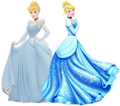 Comparação: Princesas Disney antes e depois (2/6)