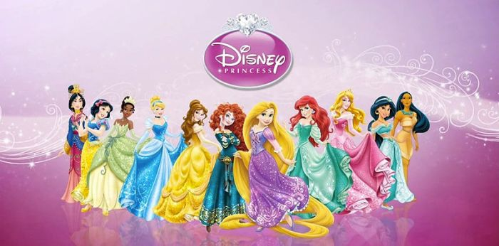 DisneyPrincessLineup2013
