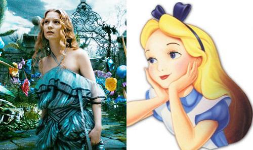 Comparação: Princesas Disney nos desenhos e nos filmes (2/6)