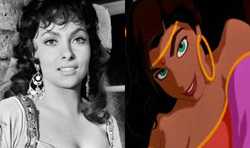 Comparação: Princesas Disney nos desenhos e nos filmes (4/6)