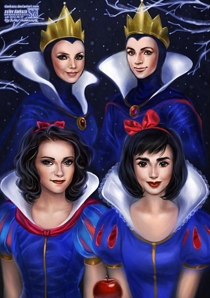 Comparação: Princesas Disney nos desenhos e nos filmes (6/6)