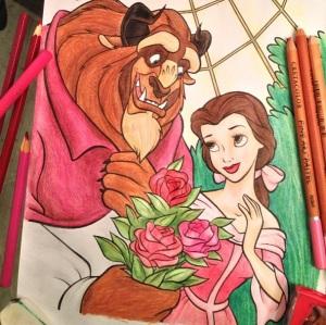 Desenho a lápis por Bernardo Amin