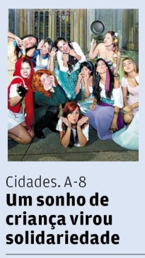 Chamada de capa - Jornal A Tribuna (05/08/2013)