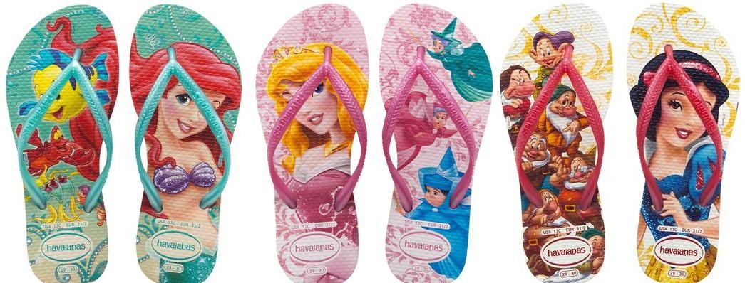 0407749cc Havaianas lança nova coleção com as Princesas Disney